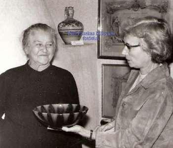 Badár Erzsébet és Kresz Mária néprajzkutató