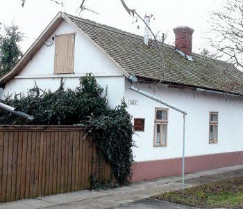 Badár Emlékház és Műhely – lakóépülete