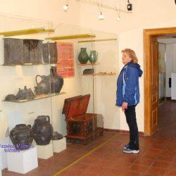 A Túri Fazekas Múzeum egyik kiállítótere