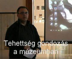 Tehetséggondozás a múzeumban – videó