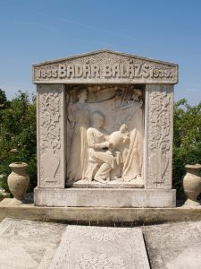 Badár Balázs, Badár Balázsné és Badár Erzsébet síremléke