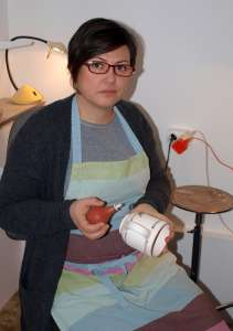 Kovács Karolina keramikus iparművész