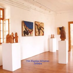 A múzeum időszaki kiállítás terme