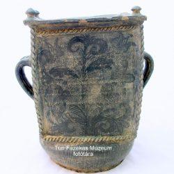Korongozott gyertyamártó 1818-ból