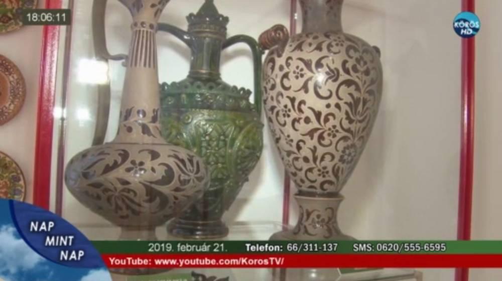 Draskovits gyűjtemény a Körös Tv-ben