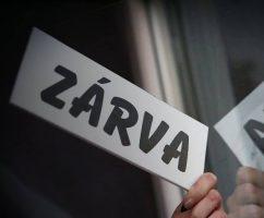 Felújítás miatt ZÁRVA