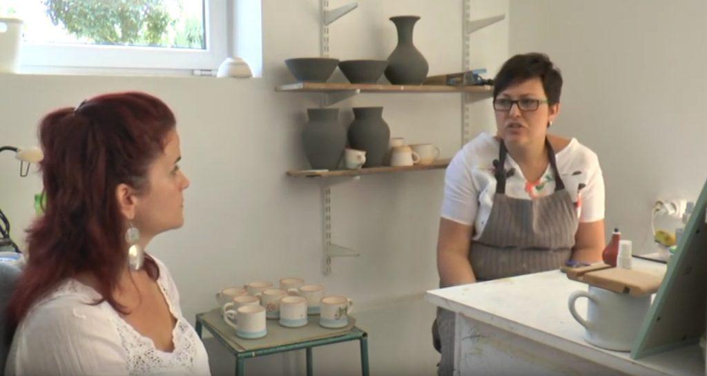 Életutak magazin - Kovács Karolina keramikus