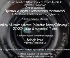 Fejezetek a digitális fototechnika történetéből – kiállítás megnyitó
